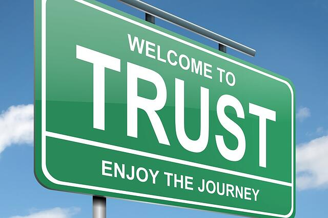 Blockchain draait om vertrouwen