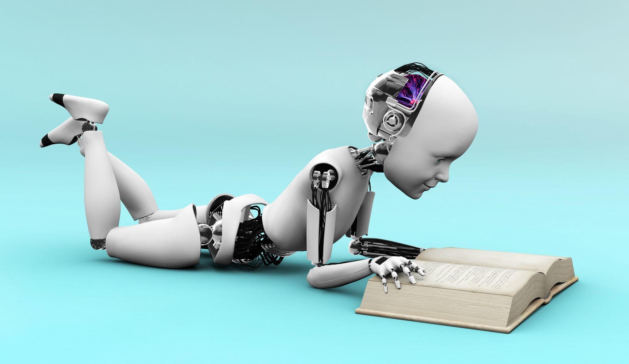 Een machine aan het leren!
